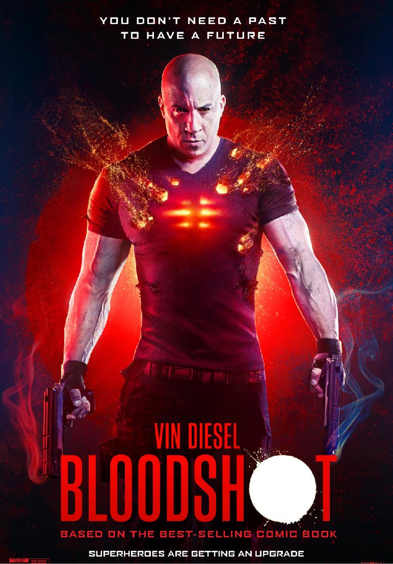 Poser pour Bloodshot